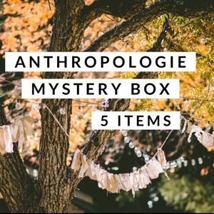 Anthropologie 5 Item Mystery Box Size Large